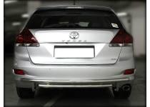 Защита заднего бампера двойная d53/43 для Toyota Venza (2013-)