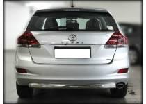Защита заднего бампера d76 для Toyota Venza (2013-)