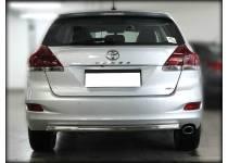 Защита заднего бампера d53 для Toyota Venza (2013-)