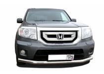 Защита переднего бампера d60 для Honda Pilot (2008-2011)