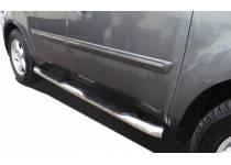 Пороги труба с проступью d60 для Honda Pilot (2008-2011)