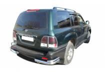 Уголки двойные d76/53 для Toyota Land Cruiser 100 (1997-2008)