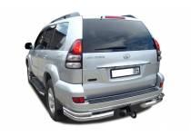 Уголки двойные d76/53 для Toyota Land Cruiser 120 (2003-2009)