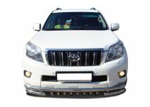 """Защита переднего бампера """"акула"""" d60/53/42 для Toyota Land Cruiser 120 (2003-2009)"""
