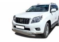 Защита переднего бампера двойная d76/60 для Toyota Land Cruiser 150 (2010-2013)