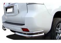 Уголки двойные d76/53 для Toyota Land Cruiser 150 (2010-2013)