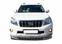 """Защита переднего бампера """"акула"""" d60/53/42 для Toyota Land Cruiser 150 (2010-2013)"""