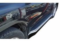 Защита штатного порога d42 для Toyota Land Cruiser 150 (2014-)