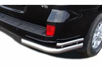 Уголки двойные d76/42 для Toyota Land Cruiser 200 (2007-2012)