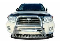 Кенгурятник высокий с защитой d76/60/42 для Toyota Land Cruiser 200 (2012-2015)