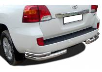 Уголки двойные d76/53 для Toyota Land Cruiser 200 (2012-2015)