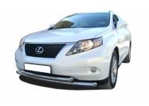 Защита переднего бампера двойная d60/60 для Lexus RX350 (2013-)