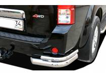 Уголки двойные d76/42 для Nissan Pathfinder (2005-2010)