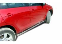 Защита штатного порога d60 для Toyota Rav4 (2006-2010)