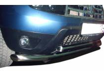 Защита переднего бампера двойная d60/53 для Renault Duster