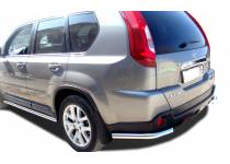 Уголки d60 для Nissan X-Trail (2011-2014)