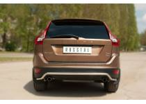 "Защита заднего бампера ""волна"" d42 для Volvo XC60 (2009-2013)"