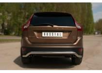 "Защита заднего бампера ""волна"" d63 для Volvo XC60 (2009-2013)"