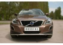Защита переднего бампера d42 для Volvo XC60 (2009-2013)