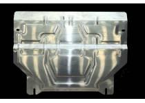 Защита картера двигателя и КПП алюминий 5 мм для Audi Q3 (2011-)