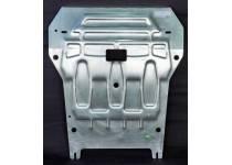 Защита картера двигателя алюминий 4 мм для BMW X3 F25 (2010-)