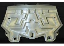 Защита радиаторов алюминий 4мм для BMW X6 E71 (2008-2014)
