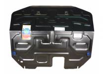 Защита картера двигателя и КПП сталь 2 мм для Hyundai IX35 (2009-2015)