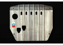 Защита картера двигателя и КПП алюминий 4 мм для Hyundai Santa Fe (2010-2012)