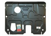 Защита картера двигателя и КПП сталь 2 мм для Hyundai Santa Fe (2012-)