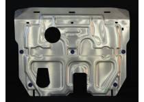 Защита картера двигателя и КПП алюминий 4 мм для Hyundai Santa Fe (2012-)