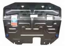 Защита картера двигателя и КПП сталь 2 мм для Kia Sportage (2010-2013)