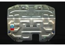 Защита картера двигателя и КПП алюминий 4 мм для Kia Sportage (2010-2013)