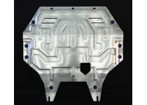 Защита картера двигателя и КПП алюминий 4 мм для Mitsubishi Outlander (2012-2013)