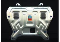Защита картера двигателя и КПП алюминий 4 мм для Nissan Juke (2011-)
