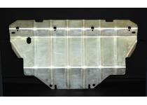 Защита радиаторов алюминий 4 мм для Nissan Navara D40 (2005-)