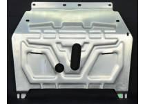 Защита картера двигателя и КПП алюминий 4 мм для Opel Mokka (2012-)