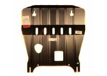Защита картера двигателя (увеличенная) сталь 3 мм для Renault Koleos (2012-)
