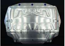 Защита картера двигателя и КПП алюминий 4 мм для Skoda Yeti (2009-)