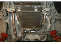 Защита КПП и РК сталь 2,5 мм для Jeep Grand Cherokee (2011-2013)
