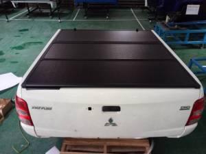 Крышка алюминиевая трехсекционная Winbo на Mitsubishi L200 (2015-2018)