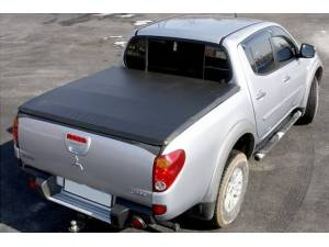 Крышка мягкая трехсекционная на Mitsubishi L200 (2006-2013)