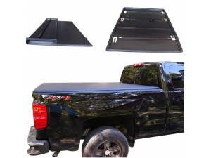 Крышка виниловая трехсекционная Winbo на Toyota Hilux (2006-2014)