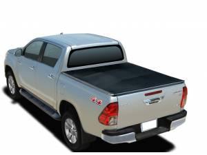Крышка Winbo roll up скручивающаяся на Toyota Hilux Revo (2015-2021)
