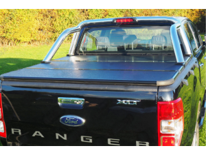 Крышка алюминиевая трехсекционная Winbo на Ford Ranger T6 (2012-)