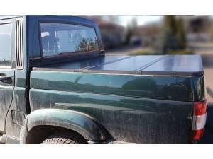 Крышка алюминиевая трехсекционная Winbo на UAZ Pickup
