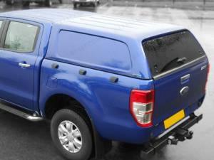 Кунг Aeroklas коммерческий (без боковых окон, в грунте) на Ford Ranger T6 (2012-)