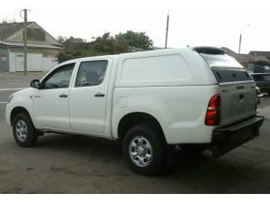 Кунг коммерческий (2 стекла) на Toyota Hilux (2006-2014)