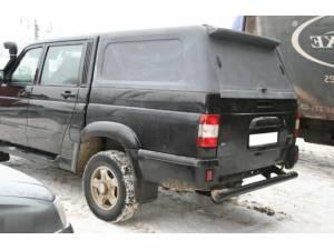 Кунг пластиковый (в грунте) на UAZ Pickup
