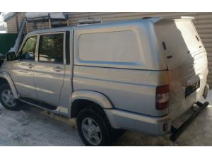 Кунг коммерческий (без стекол) на UAZ Pickup