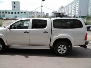 Кунг Sammitr V2 (раздвижные боковые стекла) на Toyota Hilux (2006-2014)